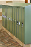 School Lockers Stock Photos
