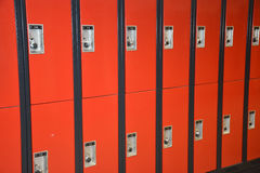 School lockers Stock Photography