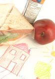 School lunch Royalty Free Stock Photography