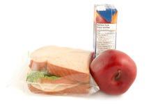 School lunch stock image