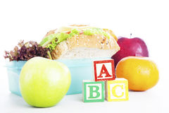 School Lunch Royalty Free Stock Photos