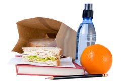 School Lunch Stock Photos