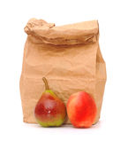 School lunch bag Royalty Free Stock Photo