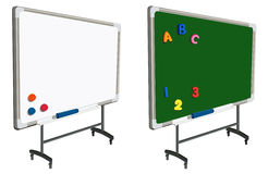 School magnet board Royalty Free Stock Photography