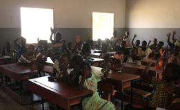 School in Mali Stock Photo