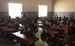 School in Mali Stock Foto