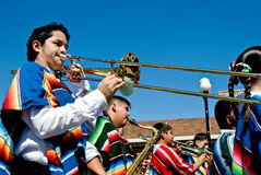 School marching band Royalty Free Stock Images