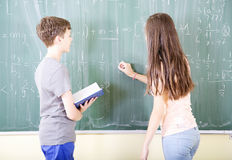 School mathematics Royalty Free Stock Images