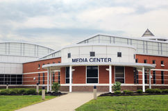 School Media Center. A modern school media center with Royalty Free Stock Photography