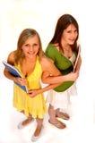 school meisjes Stock Foto