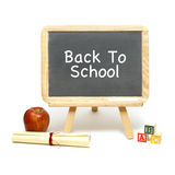 School Message Board Royalty Free Stock Photography