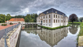 School on the Moat Stock Images