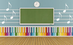 School of music Royalty Free Stock Photo