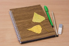 School notebook Royalty Free Stock Image