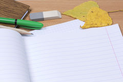 School notebook Stock Images