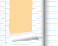 School notebook Royalty Free Stock Images