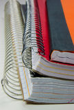 School Notebooks Royalty Free Stock Photography
