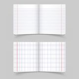 School notebooks Royalty Free Stock Images