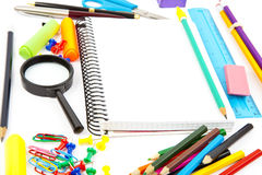 School objects Royalty Free Stock Photography