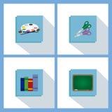 School objects Stock Image