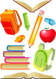 School Objects Royalty Free Stock Images