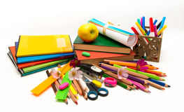 School objects Teacher Day Stock Photography