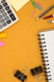 School, office accessories stock images