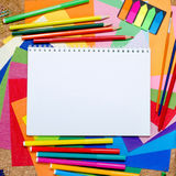 School and office accessories Royalty Free Stock Images