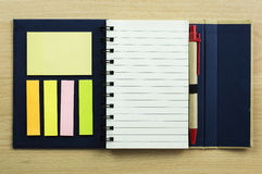 School and office stationary. On white Royalty Free Stock Images