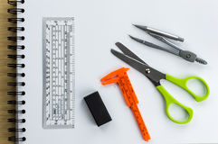 School and office stationary Stock Photography