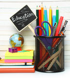 School-office stationery Royalty Free Stock Photo