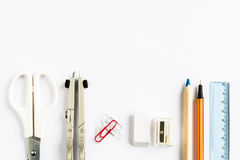 School and Office Stationery Royalty Free Stock Photography