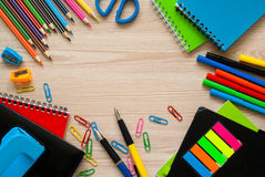 School and office stationery. Royalty Free Stock Photo