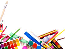 School office supplies. Stock Images
