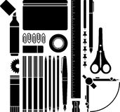 School/Office supplies Royalty Free Stock Images