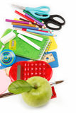 School and office supplies. Stock Photo
