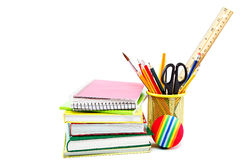 School and office supplies. Back to school. Royalty Free Stock Photo