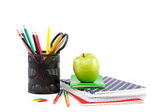 School and office supplies. Back to school. Stock Images
