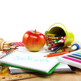 School and office supplies. Back to school. Royalty Free Stock Images