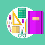 School or Office Supplies Royalty Free Stock Photo