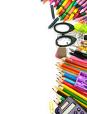 School and office supplies frame Stock Photo