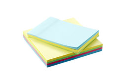 School and office supplies isolated on white Royalty Free Stock Image