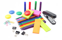 School and office supplies Royalty Free Stock Photo