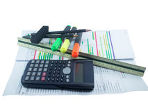 School and office supplies Stock Photography