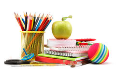 School and office supplies. Royalty Free Stock Images