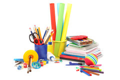 School and office supplies. Royalty Free Stock Photos