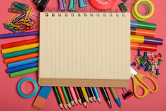 School office supply Stock Photos