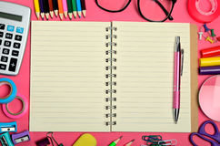 School office supply Royalty Free Stock Photography