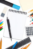 School and office tools Stock Image