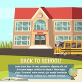 School Orthogonal Concept Royalty Free Stock Image